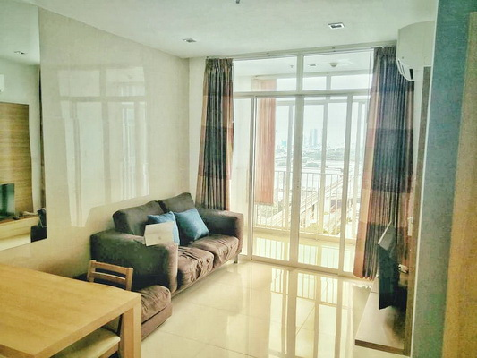 ภาพ(เช่า) FOR RENT IDEO VERVE RATCHAPRAROP / 2 beds 1 bath / 58 Sqm.**22,000** Fully Furnished. High Floor. CLOSE ARL RATCHAPRAROP