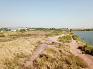 ภาพขายที่ดิน ติดทะเลสาปบางบอน-โพธิ์แจ้ ซ.สุภัทรพันธุ์