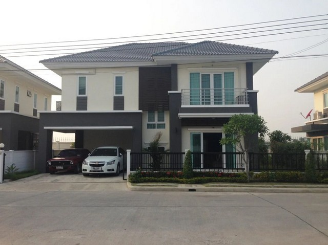 ภาพขายด่วน บ้านเดี่ยว The Living 2 นนทบุรี