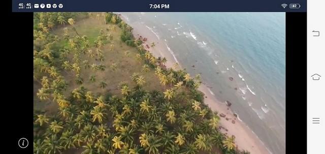 ภาพทำเลดีที่สวยงาม ที่ดิน ติดทะเล ประจวบคีรีขันธ์