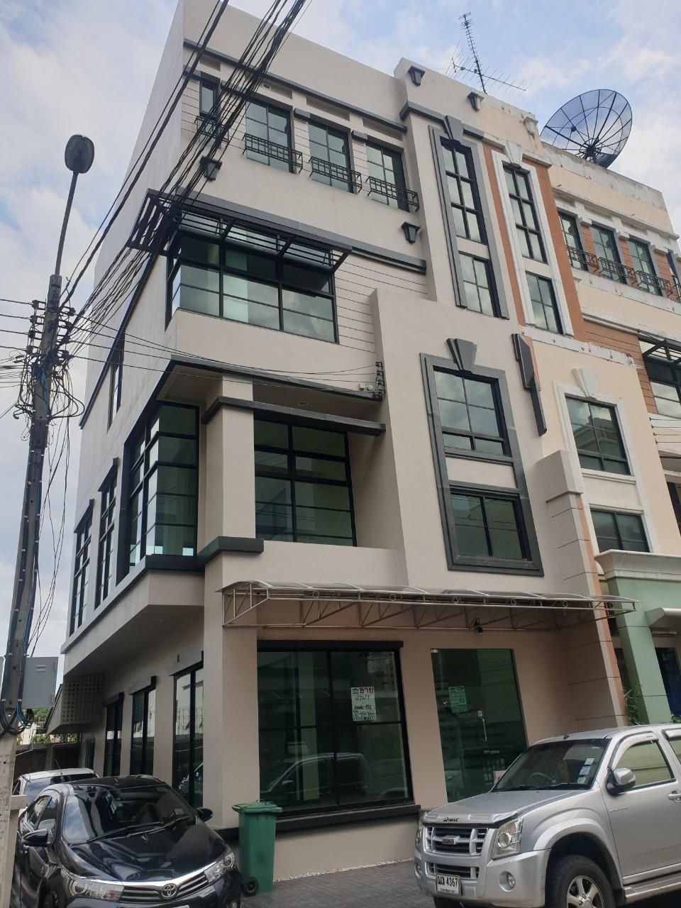ภาพขาย/ให้เช่า Home office โฮมออฟฟิศ 4 ชั้น บ้านกลางกรุงออฟฟิศพาร์ค ลาดพร้าว 71