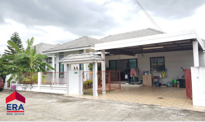 ภาพขายบ้านเดี่ยว หมู่บ้านดิไอวี่อมตะ โซนสำนักบก เดินทางสะดวกใกล้ถนนมอเตอร์เวย์ และนิคมอุตสาหกรรมอมตะนคร