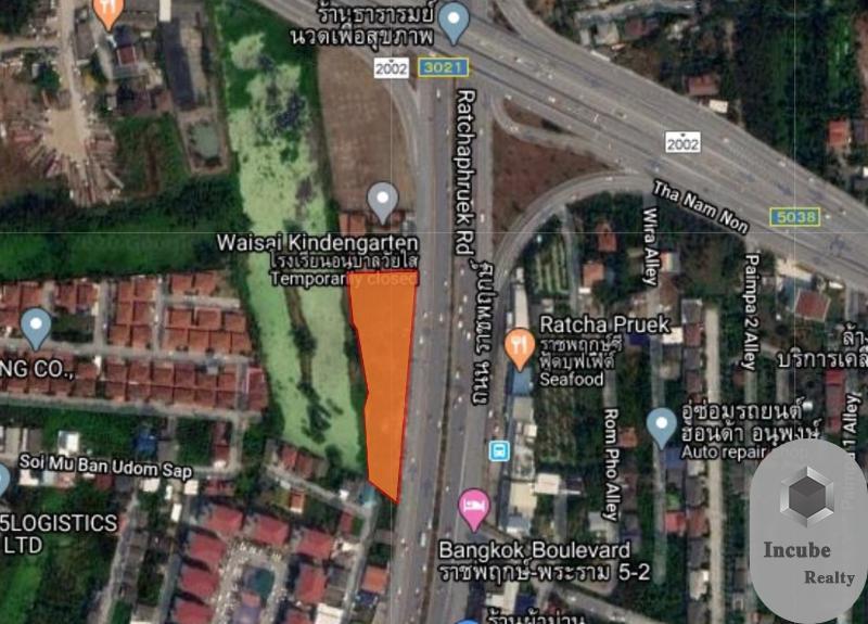 ภาพขายที่ดิน บางกร่าง นนทบุรี 3-2-24.4 ไร่