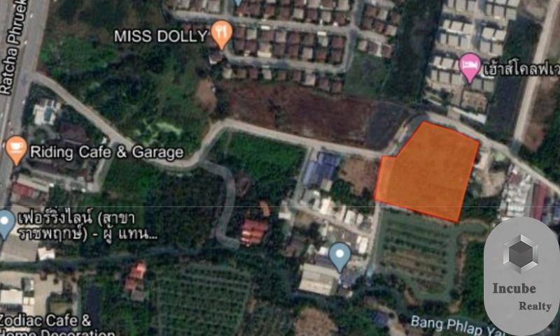 ภาพขายที่ดิน บางพลับ นนทบุรี 4-2-77.1 ไร่