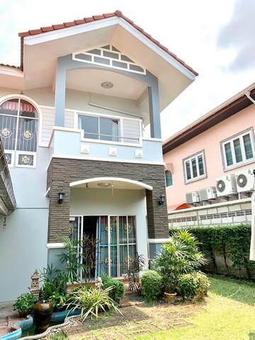 ภาพบ้านเดี่ยว 2 ชั้น แกรนด์ ชล บ้านสวน เมืองชลบุรี
