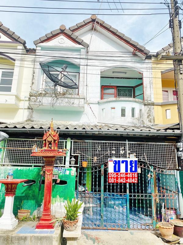 ขายถูกมาก ทาวน์เฮ้าส์ไม่ถึงล้าน หมู่บ้านพูนลาภ ลาดหลุมแก้ว  ปทุมธานี