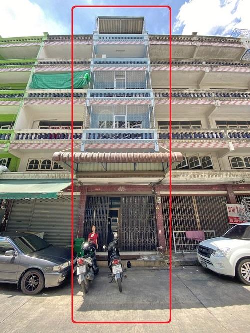 ให้เช่า ตึกเเถวกลางใจเมือง 6 ชั้น อยู่ซอย เจริญนคร 28  ใกล้ ICONSIAM ราคาถูก