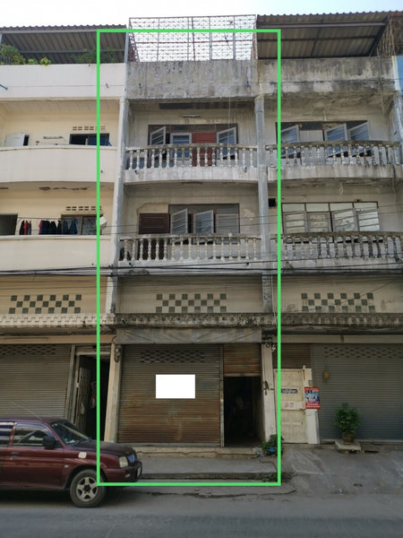 ขายอาคารพาณิชย์ซอยสีหบุรานุกิจ 4 มีนบุรี