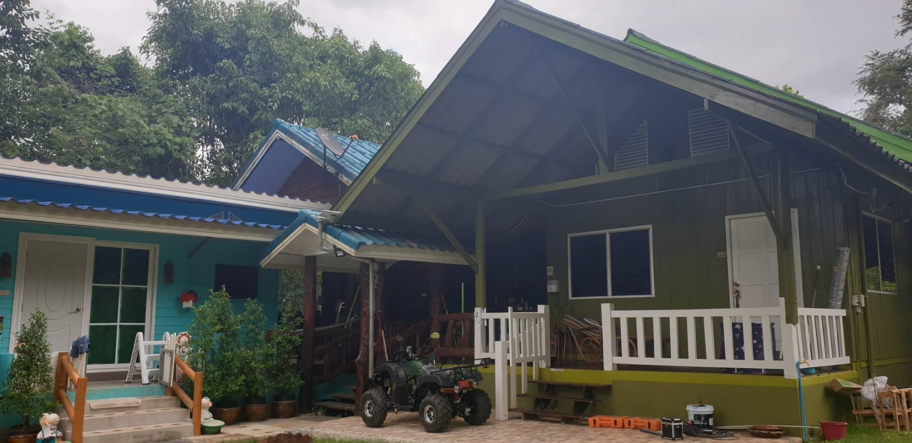 ภาพที่ดินพร้อมบ้านพักอาศัย 3 หลัง กาญจนบุรี