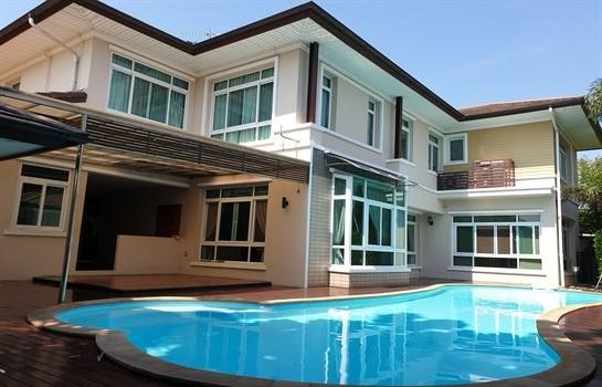ขายบ้าน 1 ไร่ ตัวบ้านสร้างใหม่บนพื้นที่โครงการ HOME ON GREEN II THANYATHANI