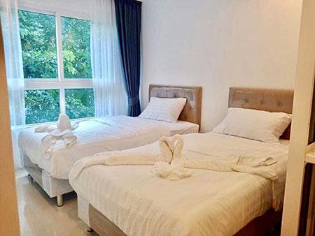 ให้เช่า The Royal Place Condominium3 ใจกลางเมืองภูเก็ต สี่แยกกระทู้สามกอง โทร 087-7884132