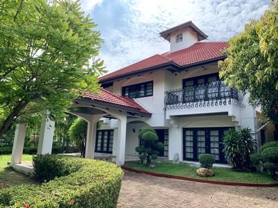 ภาพFor Rent บ้านเดี่ยวหมู่บ้านหรูหรา Lakeside Villa