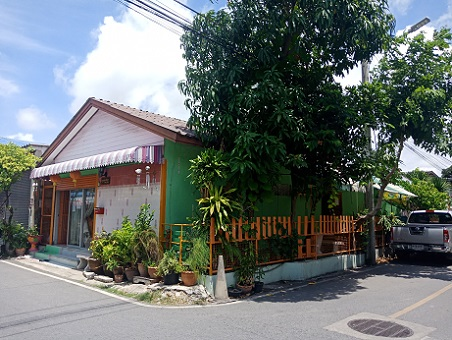ขายบ้านเดี่ยวหลังมุม ซอยบางปู 55 -ยัวซ่า