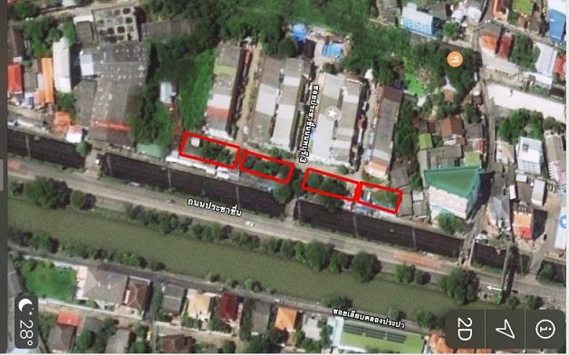 ภาพที่ดินเปล่า ติดถนน (ย่านประชาชื่น-งามวงศ์วาน) ให้เช่าราคาถูกสุดๆ 15,000 บาท/100ตร.ว./ด.