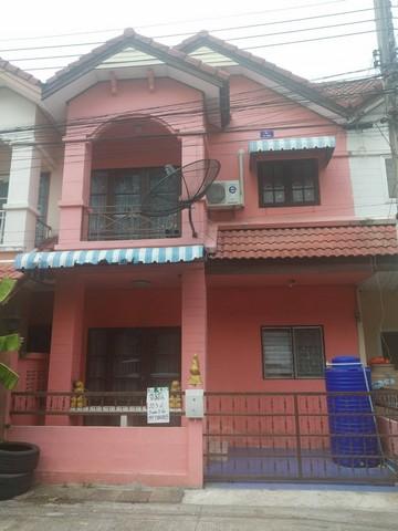 ขายทาวน์เฮ้าส์ หมู่บ้านชุมชนเอ็มพีคลองหก