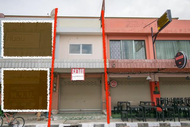 ภาพขาย อาคารพาณิชย์ ตลาดอุดมสุข โคกอุดม กบินทร์บุรี