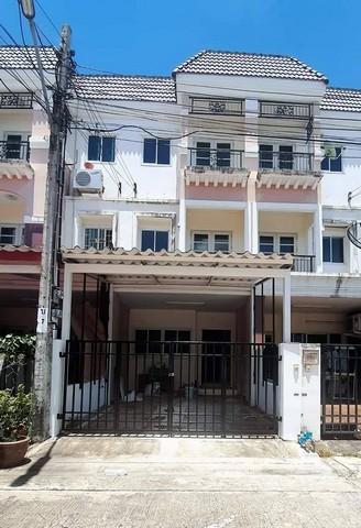 ภาพขายทาวน์เฮ้าส์รีโนเวทใหม่หมู่บ้านสรัญทรพุทธบูชา36