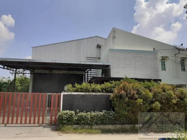 ภาพขายโกดัง พร้อม อาคารสำนักงานเฉลิมพระเกียรติ ร.9 พื้นที่ 217 ตรว.