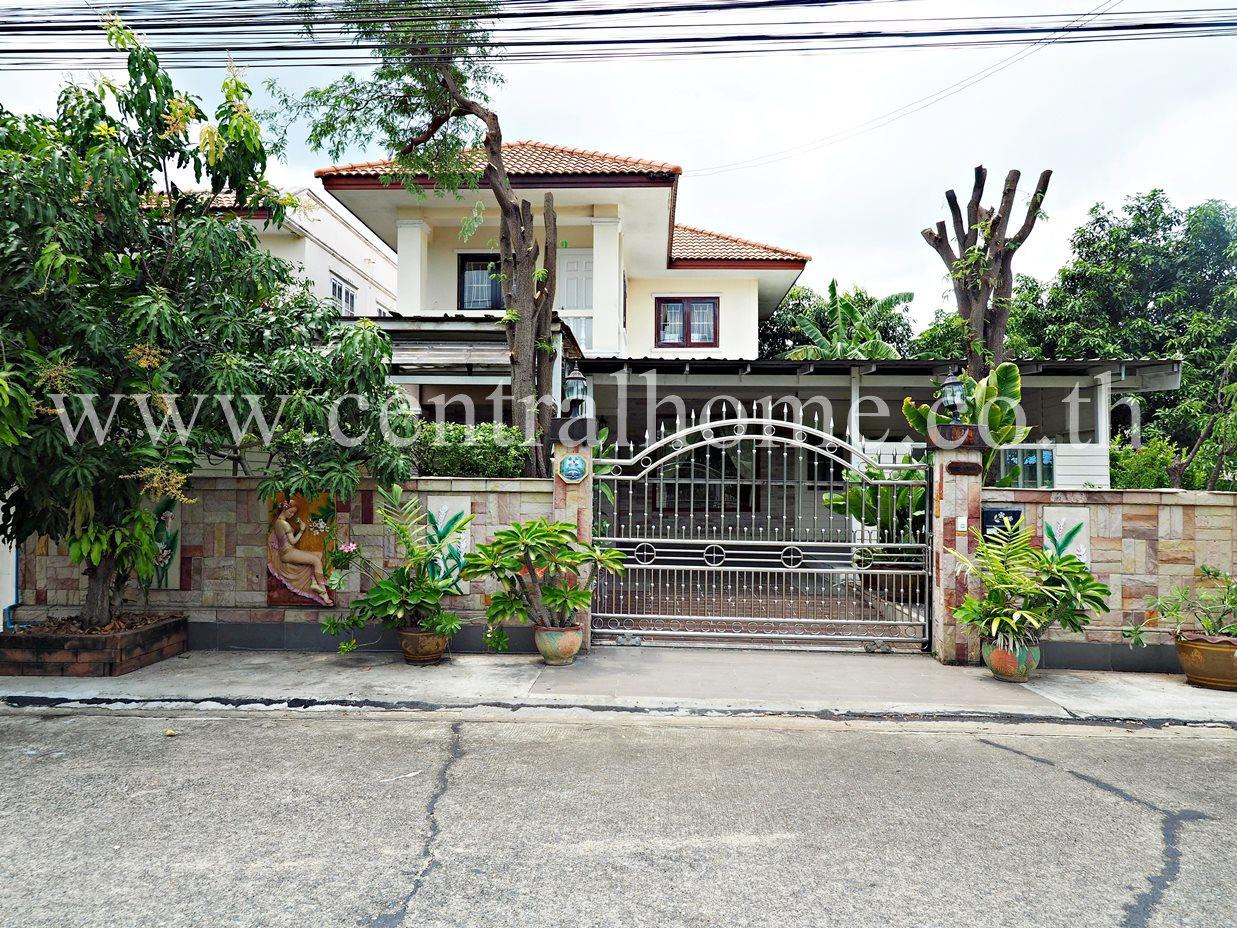 ภาพบ้านเดี่ยว หมู่บ้าน เฟื่องสุข 3 บางบัวทอง นนทบุรี
