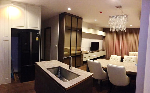 ภาพ(เช่า) FOR RENT CHEWATHAI RESIDENCE BANGPHO / 2 beds 2 baths / 79 Sqm.**32,000** Modern Decorated. River View. CLOSE MRT BANGPHO