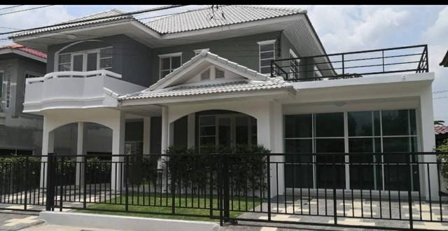 ขายด่วนบ้านเดี่ยว มีนบุรี ราษฎร์อุทิศ คู้ขวา