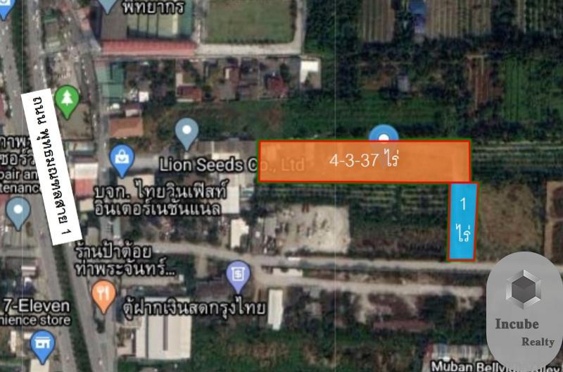 ภาพขายที่ดิน 5-3-37.0 ไร่ตลิ่งชัน กรุงเทพ