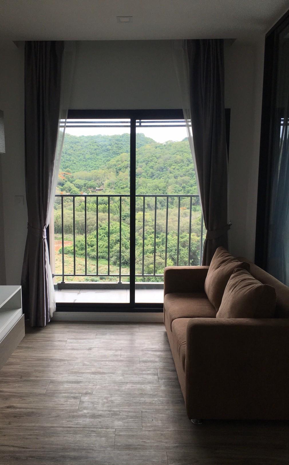 ภาพให้เช่า คอนโดหรู สไตล์ญี่ปุ่น ไนท์บริดจ์ ดิโอเชียน ศรีราชา 1 ห้องนอน 35 ตร.ม  วิวภูเขา (A112)