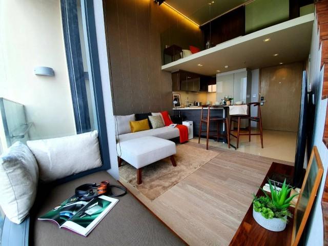 ภาพcode2360  THE ESSE Asoke  2 bedroom duplex 57 sqm