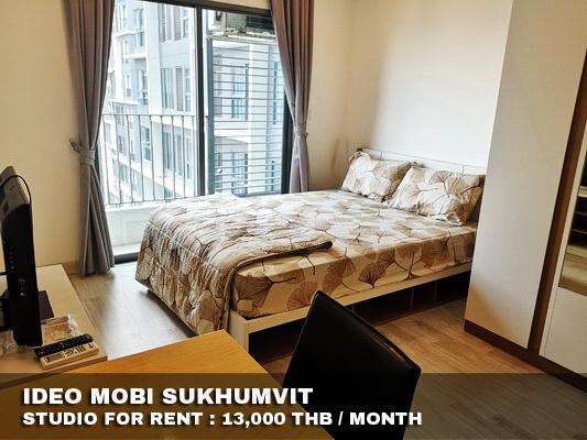 ภาพFOR RENT IDEO MOBI SUKHUMVIT Studio 22 Sqm. 13,000
