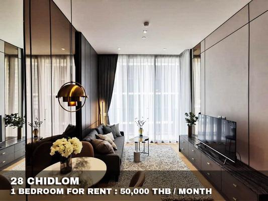 ภาพFOR RENT 28 CHIDLOM BY SC ASSET 1 BED 50,000 THB