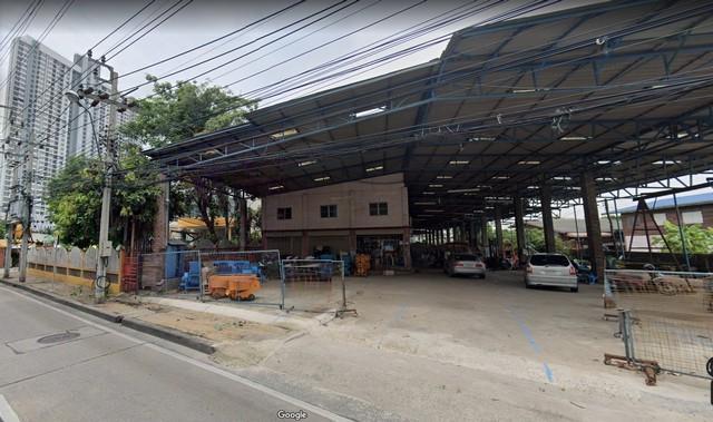 ภาพให้เช่าที่ดิน  เนื้อที่ 2  ไร่ 1 งาน 11 ตารางวา  ติดถนนรัตนาธิเบศร์พร้อมสิ่งปลูกสร้าง ใกล้สถานีรถไฟฟ้า MRTแยกนนทบุรี1