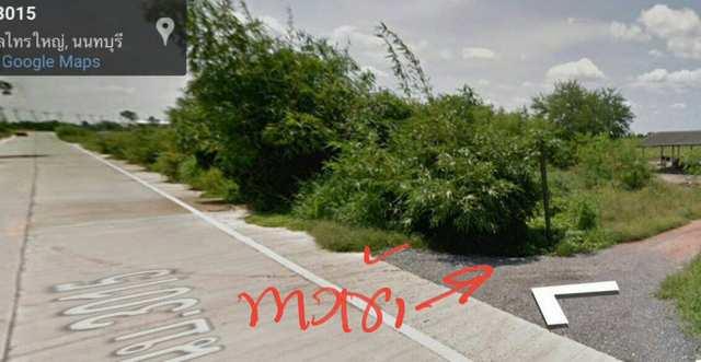 ภาพที่ดิน ถมแล้ว 106-2-12 ไร่ ถนน นบ.3015 ไทรน้อย
