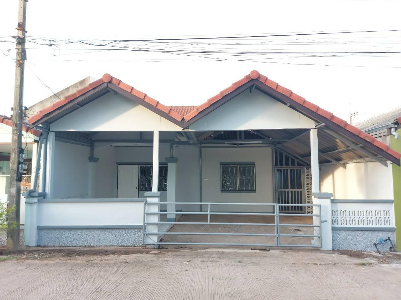 บ้านแฝดชั้นเดียว พื้นที่ 31 ตรว. ทำเลดี ใกล้ตลาดต้นตาล หนองโคต ต.บ้านเป็ด อ.เมือง จ.ขอนแก่น