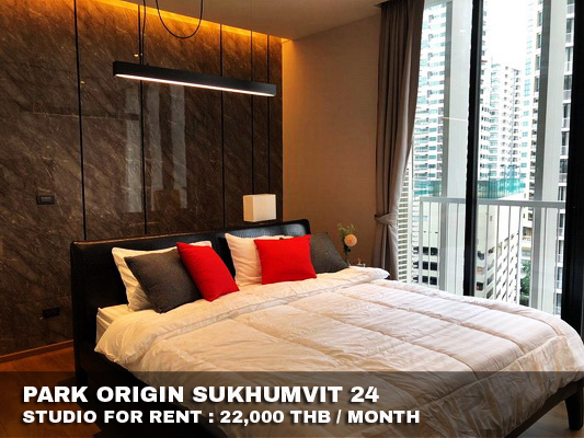 ภาพ(เช่า) FOR RENT PARK ORIGIN SUKHUMVIT 24 / Studio / 32 Sqm.**22,000** New Condo. Amazing Decorated. CLOSE BTS PHOMPONG