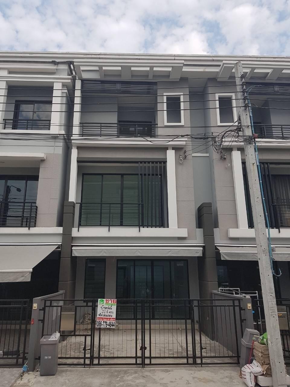 Townhome for sale in Baan Klang Muang, Suksawat 37,