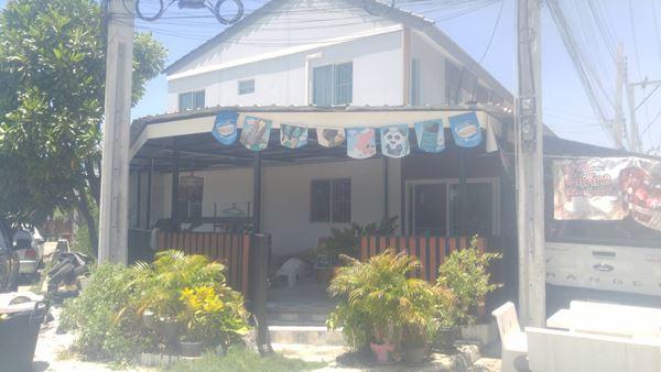 ขายทาวน์เฮ้าหลังมุม หมู่บ้านพฤกษา 87/2 พื้นที่ 27.1 ตร.ว. 3 ห้อนอน 2 ห้องน้ำ