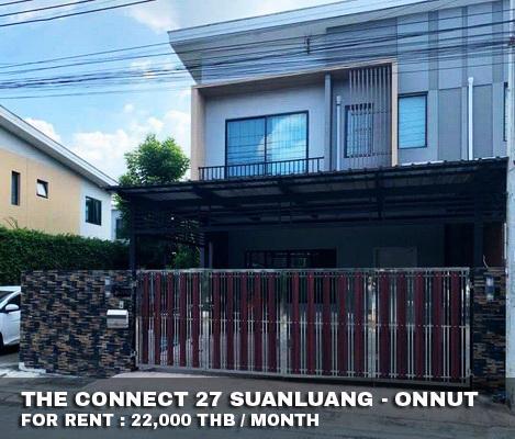 ภาพFOR RENT THE CONNECT 27 SUANLUANG-ONNUT 22,000 THB