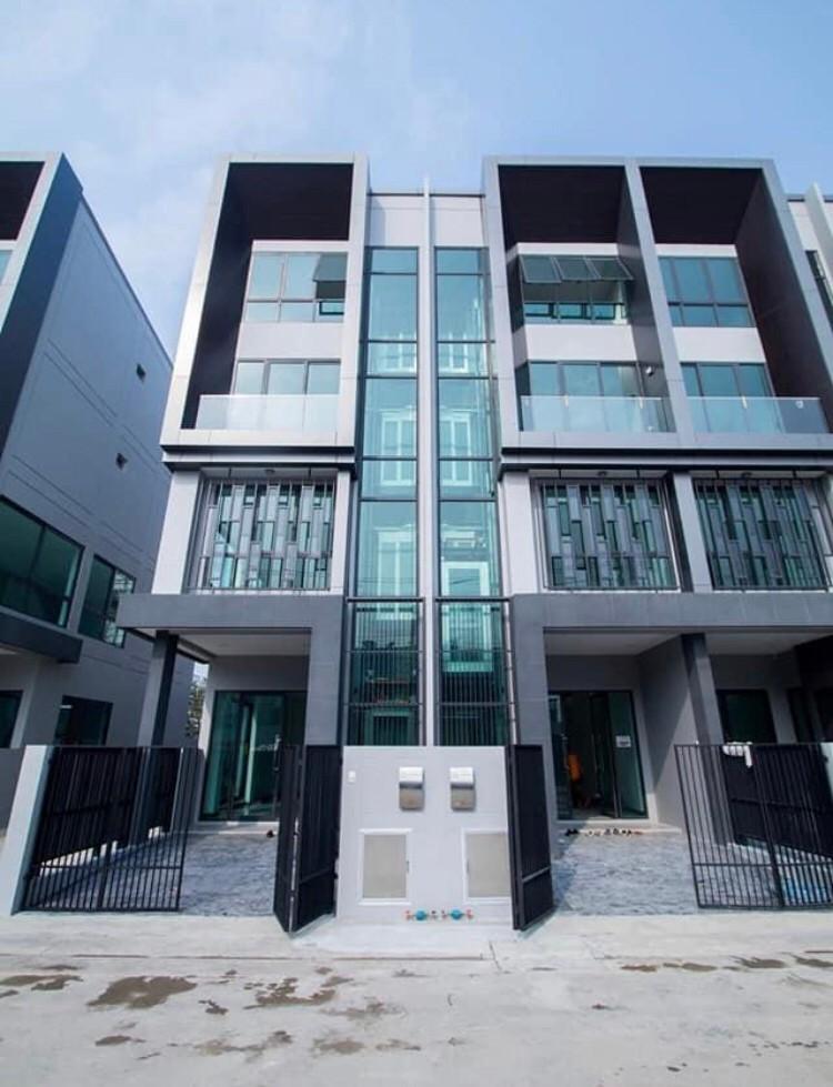 ให้เช่าโฮมออฟฟิศ 4 ชั้น มีลิฟท์แก้ว JW Urban Home Office ดอนเมือง-สรงประภา (HH1-HC091)