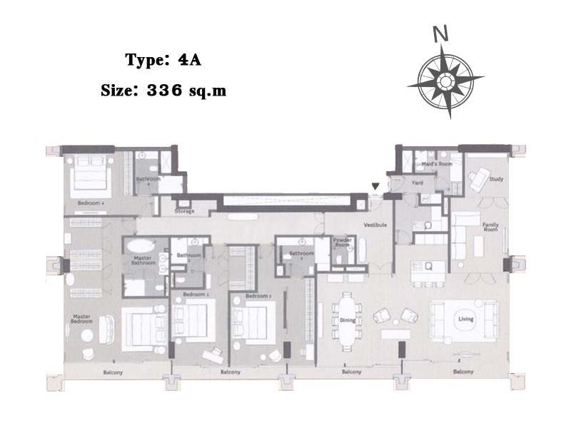 ภาพP09CF1801086 Nimit Langsuan 4 Bed 124 mb