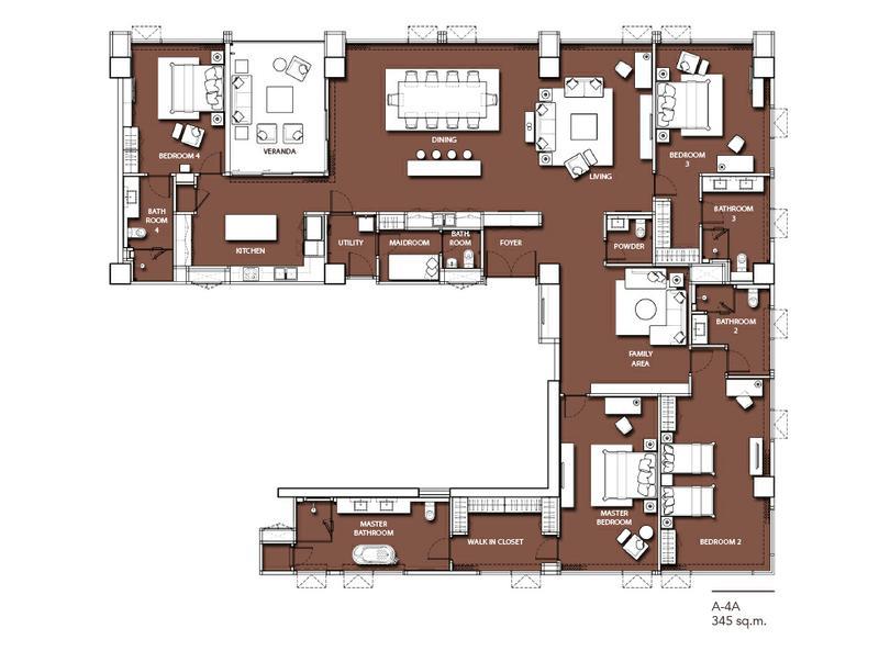 ภาพP09CF1801077 Sindhorn Residence 4 Bed 98 mb