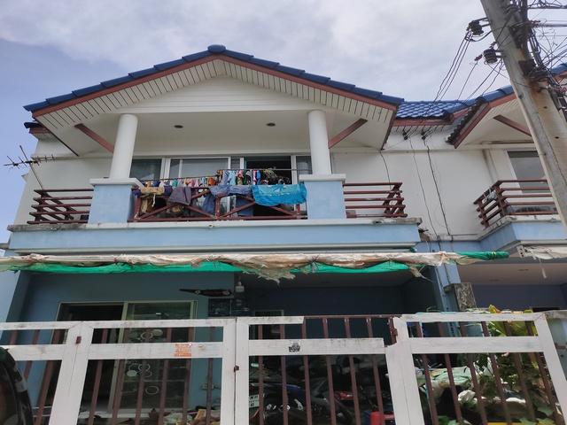 ภาพขายทาวน์เฮ้าส์ 2ชั้น นครทองบีช บางปู ใกล้ทะเล