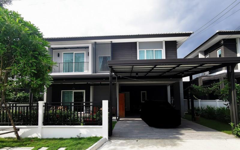 ขายบ้านเดี่ยว เดอะเซนโทร วัชรพล-สุขาภิบาล 5 ถูกมาก 62.4 ตรว. (The Centro วัชรพล)