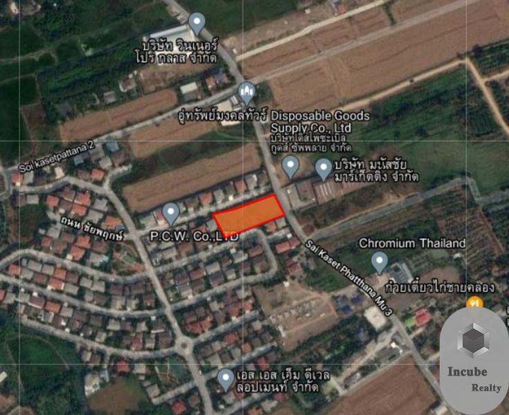 ภาพขายที่ดินนนทบุรี 1-3-30.0 ไร่ 21.9 ล้าน