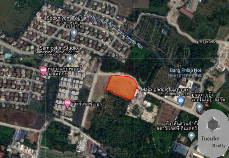 ภาพขายที่ดินนนทบุรี 3-1-94.9 ไร่ 41.847 ล้าน