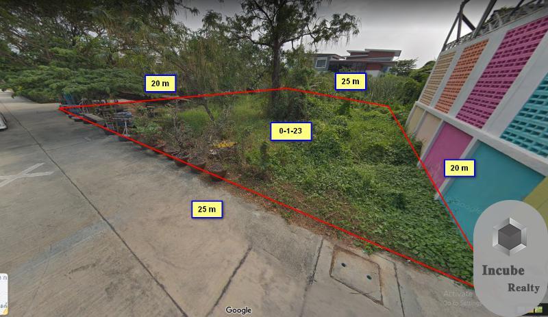 ภาพขายที่ดินชลบุรี 0-1-23.0 ไร่ 3 ล้าน