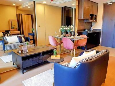 ภาพขาย คอนโด Ashton Chula-Silom, 34 ตรม. 1 นอน ชั้น 25 วิวเมือง ห้องใหม่แต่งสวย ยังไม่เคยเข้าอยู่