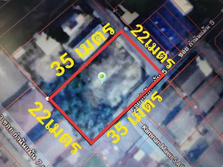 ภาพCH0077A ขายที่ดินถมแล้ว ใกล้ถนนกัลปพฤกษ์กำนันแม้น ซอย5Land for sale, near Kanlapapruek Road, Kamnanman 5.