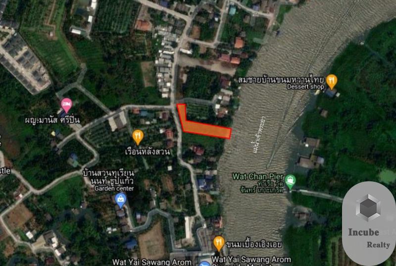 ภาพขายที่ดินนนทบุรี 1-2-32.3 ไร่ 90 ล้าน