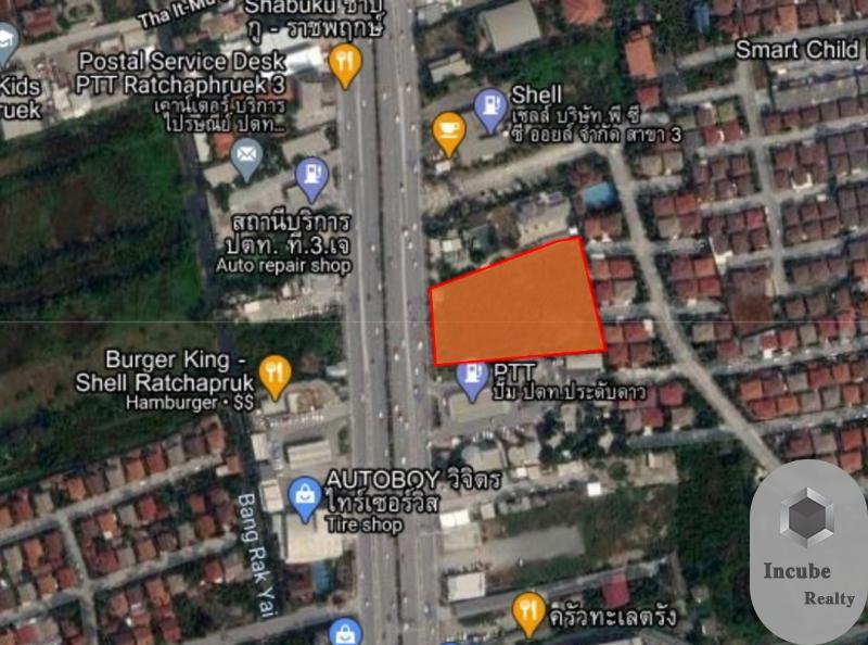 ภาพขายที่ดินนนทบุรี 4-2-84.0 ไร่ 452.16 ล้าน