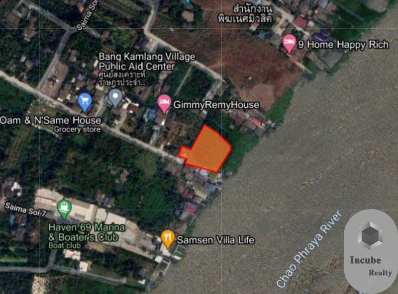 ภาพขายที่ดินนนทบุรี 2-3-43.0 ไร่ 114.3 ล้าน
